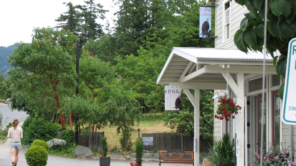 Charming Eastsound, Orcas Island Washington