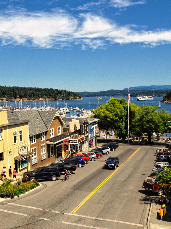 Friday Harbor by Mike Bertrand