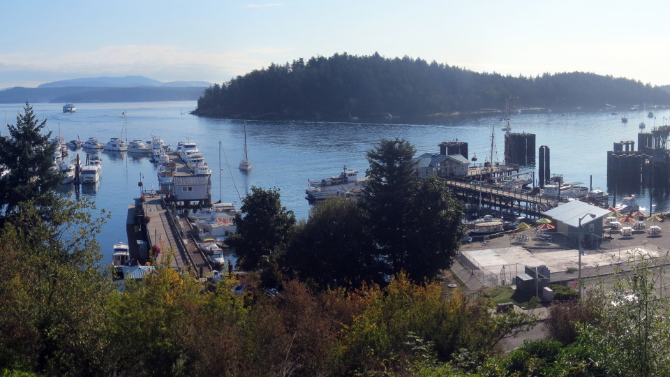 Friday Harbor, San Juan Island Washington