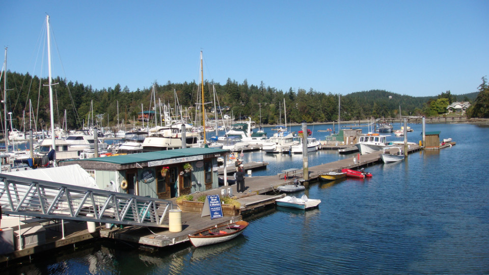 Deer Harbor Orcas Island Washington